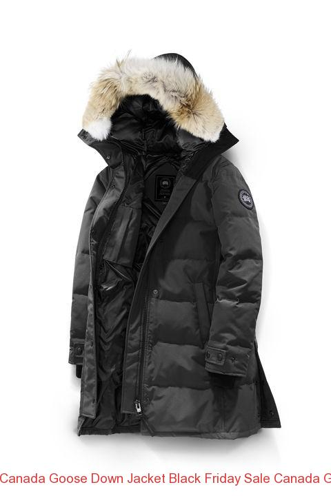 18f19ccef04 Canada Goose Down Jacket Black Friday Sale Canada Goose Women Shelburne  Parka Black Label Graphite –