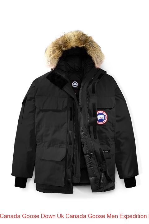ce7fa541ba Canada Goose Down Uk Canada Goose Men Expedition Parka Fusion Fit Black –