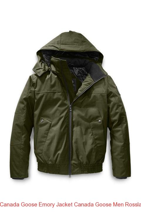 Canada Goose Emory Jacket Canada Goose Men Rossland Bomber Black Label Military Green