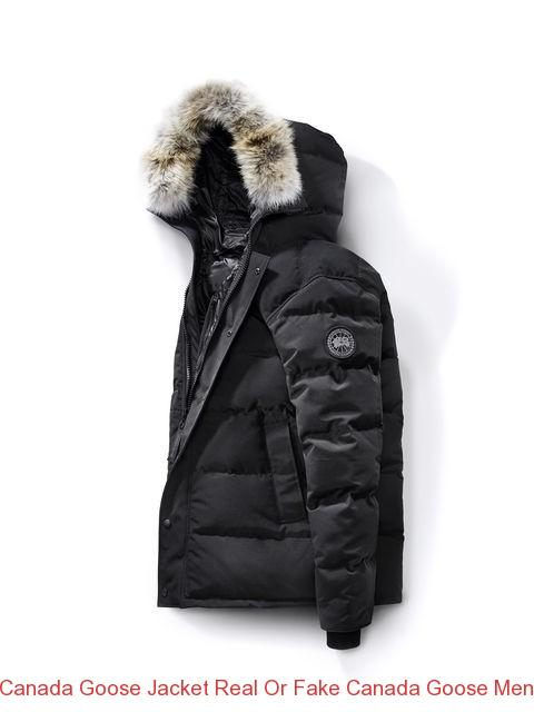 quality design 9cdf8 06804 Canada Goose Jacket Real Or Fake Canada Goose Men Carson Parka Black Label  Black