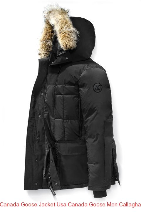 Canada Goose Jacket Usa Canada Goose Men Callaghan Parka Black Label Black 8fe79e204fe5