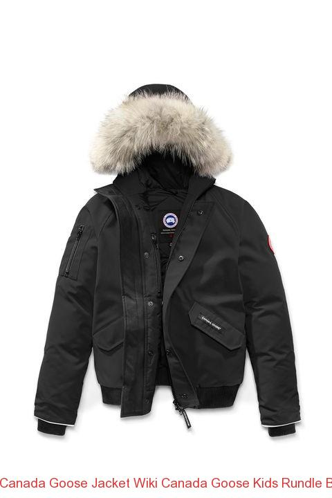 0ad6fd6c8 Canada Goose Jacket Wiki Canada Goose Kids Rundle Bomber Black –