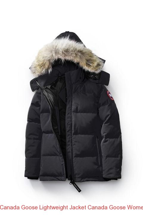 Canada Goose Lightweight Jacket Canada Goose Women Chelsea Parka Fusion Fit  Black –
