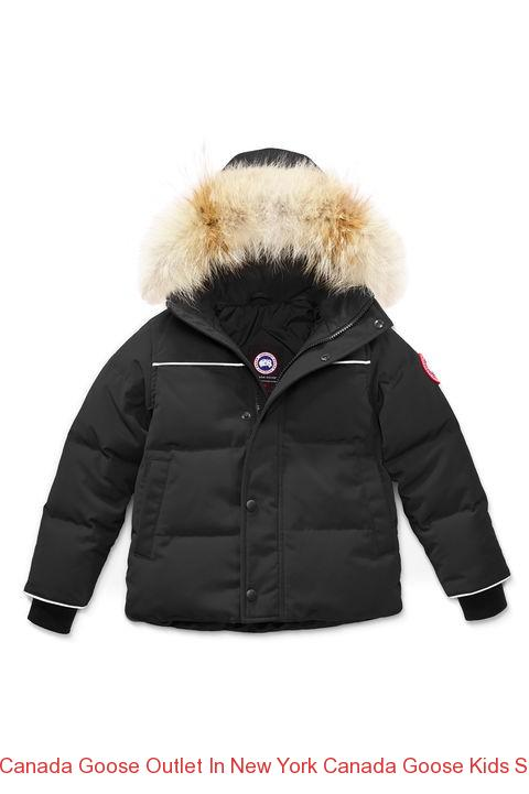359fdc36313f Canada Goose Outlet In New York Canada Goose Kids Snowy Owl Parka Black –