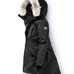 Canada Goose Outlet Usa Canada Goose Women Rossclair Parka Black Label Black