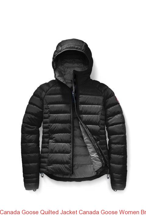 df79afbcaa39 Canada Goose Quilted Jacket Canada Goose Women Brookvale Hoody Black  Graphite –