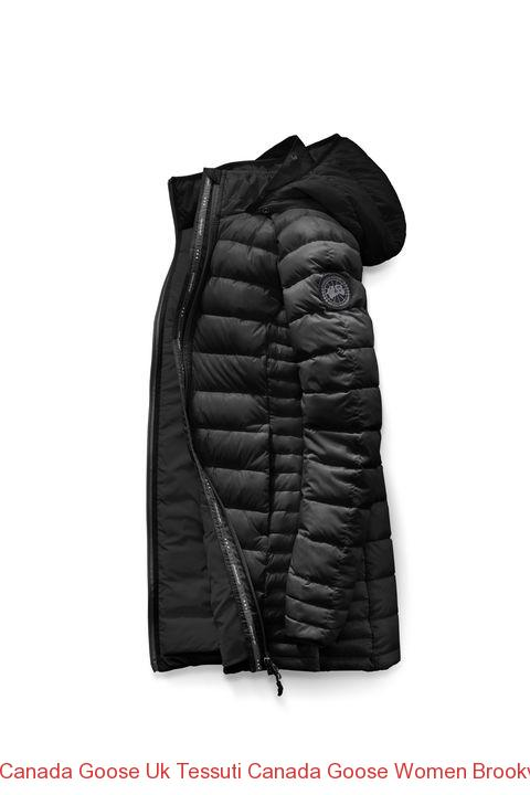 Canada Goose Uk Tessuti Canada Goose Women Brookvale Hooded Coat Black Label Black Classic Camo