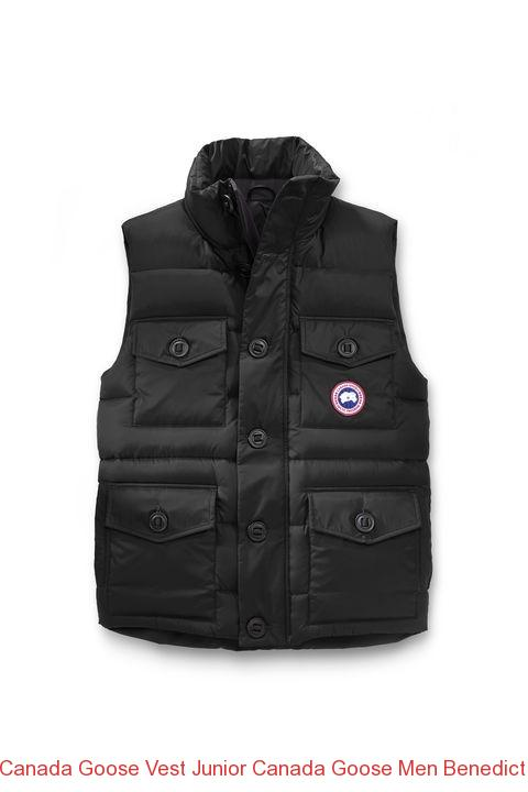 Canada Goose Vest Junior Canada Goose Men Benedict Vest Red –