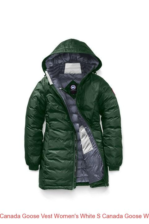 f0241d16abc14 Canada Goose Vest Women's White S Canada Goose Women Camp Hooded Jacket  Algonquin Green Ink Blue. Home / Canada Goose Down Jackets Outlet ...