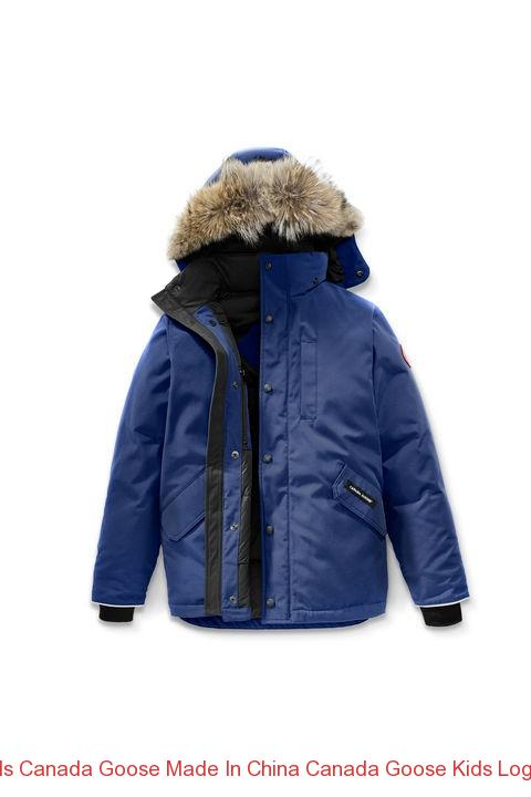 388ea8bcd04 Is Canada Goose Made In China Canada Goose Kids Logan Parka Pacific Blue