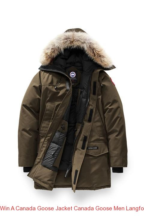 Win A Canada Goose Jacket Canada Goose Men Langford Parka Grizzly Brown